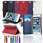 Accessories for Apple iPhone 6 4.7 Leather Wallet Case Cover + Screen Protector