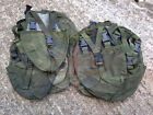 BRITISH ARMY SURPLUS ISSUE GREEN CORDURA PLCE ENTRENCHING TOOL WEBBING POUCH