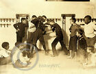 1908 Newsies St Louis Boxing Photo Self Defense Class Vintage Largest Sizes