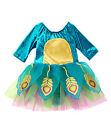 NWT Gymboree Teal Velvet Peacock Gold Costume Halloween FREE US SHIPPING