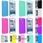 NEW RUBBER SOFT SILICONE GEL SKIN BUMPER TPU CASE COVER FOR APPLE IPHONE 6 4.7""