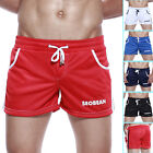 Cozy at Home Mesh Sexy Men's Causal Gym Sports Breathable Boxer Shorts 5 Colours