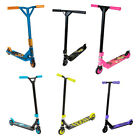Children's Boys & Girls Neon Stunted X Stunt Scooter, Pink, Black, Blue scooters