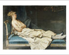 """DOMENICO INDUNO """"A Lady Reclining On A Chaise Longue"""" various SIZES, BRAND NEW"""