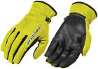 FirstGear Womens Ultra Mesh Glove Dayglo Motorcycle Riding Leather Mesh