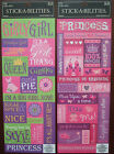 You Choose! ~LITTLE GIRL CARDSTOCK STICKERS~ The Paper Studio Stick-A-Bilities