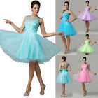 Sweet Style Bridesmaid Evening Party Prom Gown Cocktail Homecoming Wedding Dress