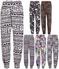 Womens Aztec Comic Print Ladies Ali Baba Harem Pants Leggings Trousers Plus Size