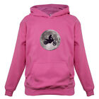 Motorcross Moon - Kids / Childrens Hoodie - Motorbike - Moto X - 7 Colours
