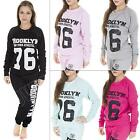 New Womens Ladies Quilted Brooklyn 76 New York Print Sweatshirt Jumper Top S M L