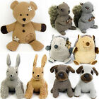 ANIMAL DOOR STOP NOVELTY STOPPER PLUSH SOFT FABRIC LEATHER FAUX GIFT CHIC HEAVY