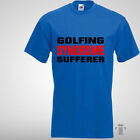Golfing Syndrome Sufferer Mens Funny T shirt Cotton Crew Neck Best #Gifts #tee