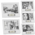 6 X 4 PICTURE PHOTO FRAME WOODEN WHITE GIFT HOME MEMORIES STAND FAMILY HANGING