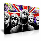 Oasis Rock Band Modern Wall Art Canvas Print Framed Box ~ Many Sizes & Style