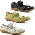 New Ladies Coolers Velcro Mary Jane Trainers Flats Casual Shoes Sizes UK 4-8