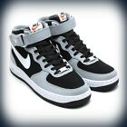 Mens Nike Air Force 1 Mid Black/Cool Grey-Wolf Grey 315123-024