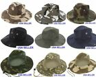Boonie Fishing Hiking Army Military Camouflage Bucket Outdoor Hat Sun Cap