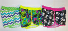 Op Girls Shorts Skulls Shapes or Flowers Sizes Large 10-12 and XLarge 14-16 NWT