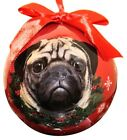 E & S Christmas Tree Shatter proof Ball Ornament YOU CHOOSE Dog Cat Horse