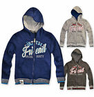Boys Zip Hoodie Jumper Jacket Kids Zipped Hooded Top Brand New Age 3-10 Years