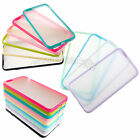 "Ultra Slim Soft TPU + Hard PC Clear Matte Cover Case For Apple iPhone 6 4.7"" LOT"