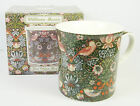 Blue Green Red William Morris Pattern Fine China Mug Gift Boxed Present Coffee