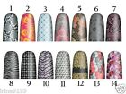 OPI PURE LACQUER NAIL APPS 16 PRE-CUT STRIPS - CHOOSE DESIGN