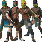 Child Teenage Mutant Ninja Turtles TMNT Movie Fancy Dress Costume Outfit Kids