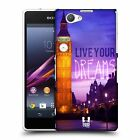 HEAD CASE DESIGNS WORDS TO LIVE BY 4 CASE COVER FOR SONY XPERIA Z1 COMPACT D5503