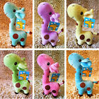 Happy Plush Giraffe Soft Toy Animal Dear Doll Baby Kid Child Birthday Gift 1pc