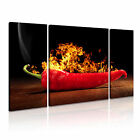 FOOD&DRINK Spice&Pepper 14 3B  Canvas Framed Printed Wall Art ~ More Size