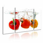 FOOD&DRINK Spice&Pepper 30 3B  Canvas Framed Printed Wall Art ~ More Size