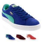 Womens Puma Suede Classic Lace Up Low Top Shoes Casual Sports Trainers UK 3-8