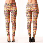 LEGGINGS ELASTICIZZATI fantasia S/M L/XL LEGGINS aderenti tendenza stretch bes