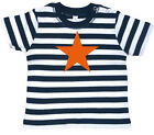 ORANGE STAR Baby-T-Shirt gestreift navy/weiß