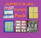 20 COUPON SLEEVES ORGANIZER HOLDER PAGES BINDER SET!! GREAT DEAL! SHIPS FAST