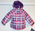 Cherokee Toddler Girls 4 in 1 Jacket Purple Pink Blue Size 5T NWT