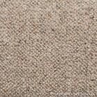5 Metre Wide Carpet - Raw Linen Beige - 100% Wool Berber