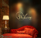 Welcome Vinyl Wall Lettering Quotes Words Art Decals Stickers 1093