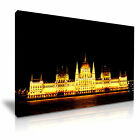 CITYSCAPE Europe Hungary 7 1L Canvas Framed Printed Wall Art ~ More Size
