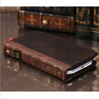 Retro Genuine Leather Flip Wallet Stand Case For Samsung Galaxy S3 / 4 / 5 Note2 / 3