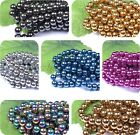 Lots Mixed Colored Ball Not MAGNETIC HEMATITE Spacer BEADS 4MM 6MM 8MM 10MM 12MM