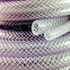 "16.0mm (5/8"") CLEAR PVC BRAIDED HOSE,FOOD GRADE OIL WATER GASES, REINFORCED TUBE"