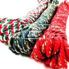 CHRISTMAS BAKERS TWINE CHUNKY 100% COTTON 4mm THICK STRIPED CORD MADE IN BRITAIN