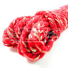 CHRISTMAS BAKERS TWINE CHUNKY RED GOLD 100% COTTON 4mm CORD MADE IN BRITAIN