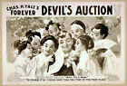Photo Printed Old Poster: Stage Drama Flyer Theatre Show Chas Yales Devils Aucti