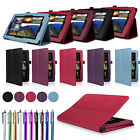 Leather Smart Case Cover for Amazon Kindle Fire HD 6 7 with Sleep Wake 2014