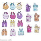 50PCs Mixed Cute Cartoon Baby Pattern Wood Buttons Fit Sewing DIY Scrapbook