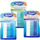 Wisdom Clean Between Interdental Brushes Wire Free - Pack of 20 – Sizes S/M/XL