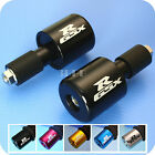 Suzuki GSXR 600 750 1000 1100 Laser Engraved CNC Bar End -Z10 QUALITY MADE